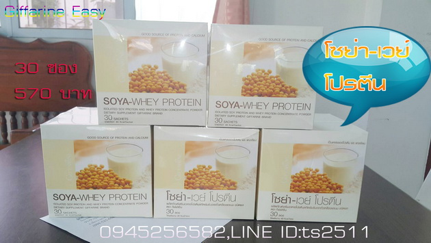 โซย่า เวย์ โปรตีน,ผลิตภัณฑ์ สำหรับผู้ป่วยเรื้อรัง ขาดสารอาหาร